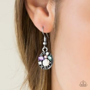 Pretty Perennial Multi Rose Fishhook Earrings